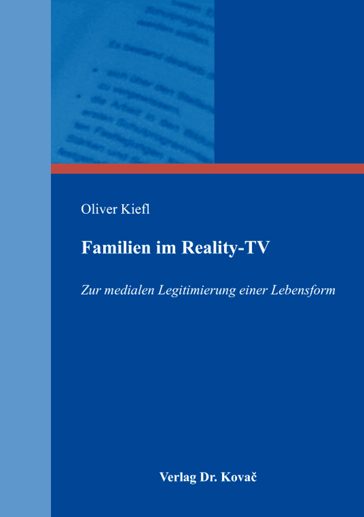 Cover: Familien im Reality-TV