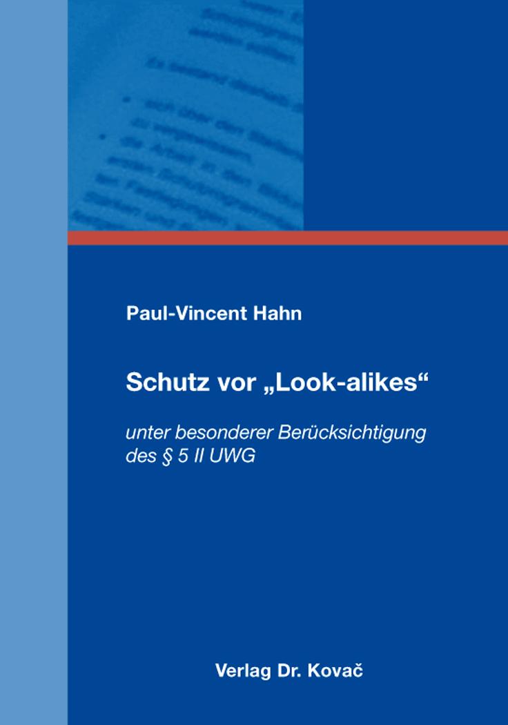"""Cover: Schutz vor """"Look-alikes"""""""