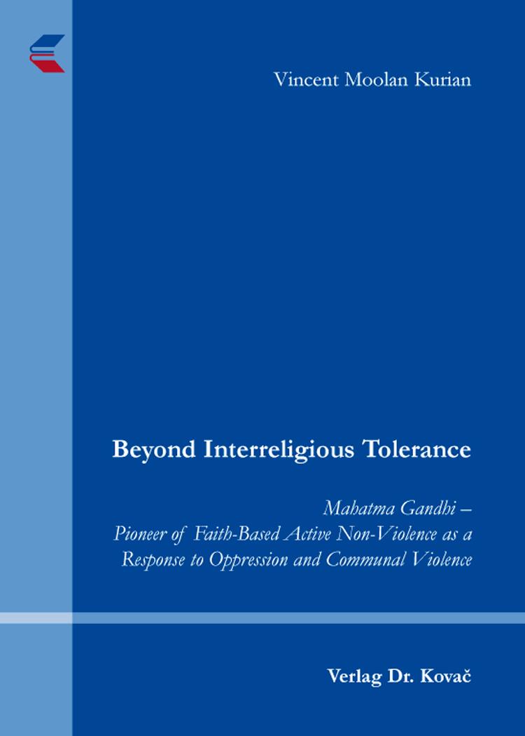 Cover: Beyond Interreligious Tolerance