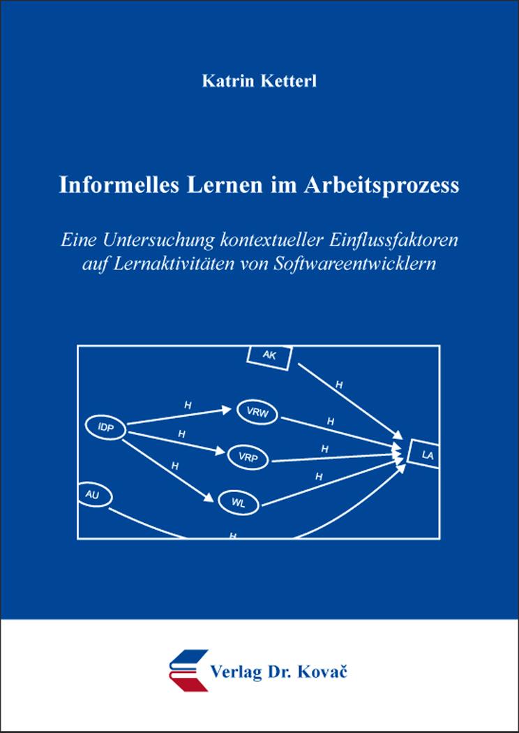 Cover: Informelles Lernen im Arbeitsprozess
