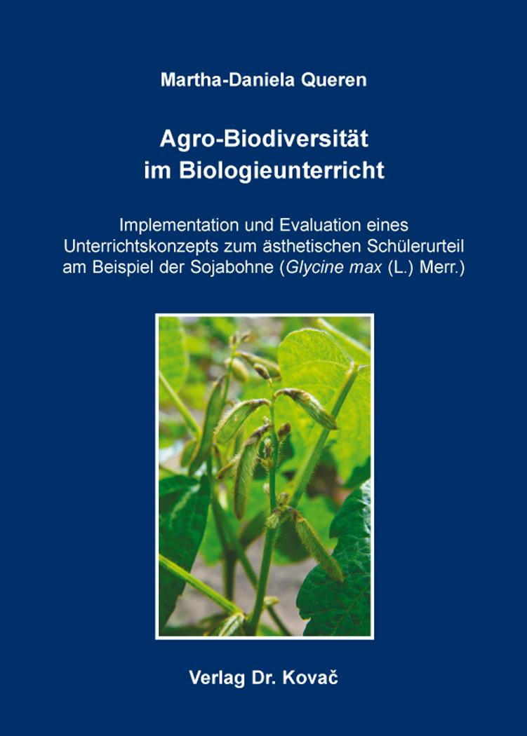 Cover: Agro-Biodiversität im Biologieunterricht