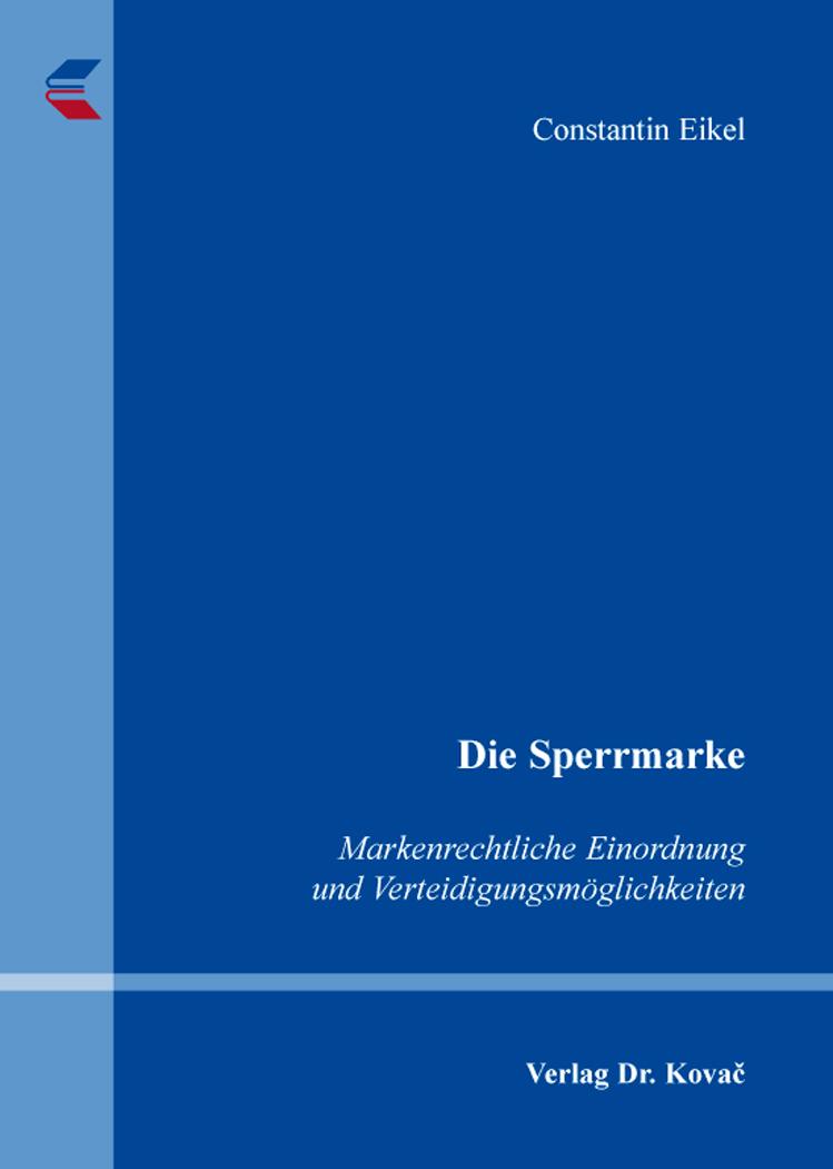 Cover: Die Sperrmarke