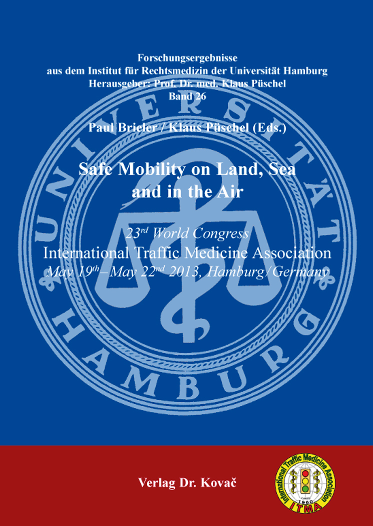 Cover: Safe Mobility on Land, Sea and in the Air
