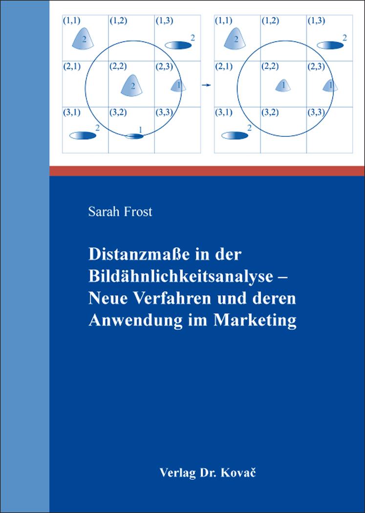 Cover: Distanzmaße in der Bildähnlichkeitsanalyse – Neue Verfahren und deren Anwendung im Marketing