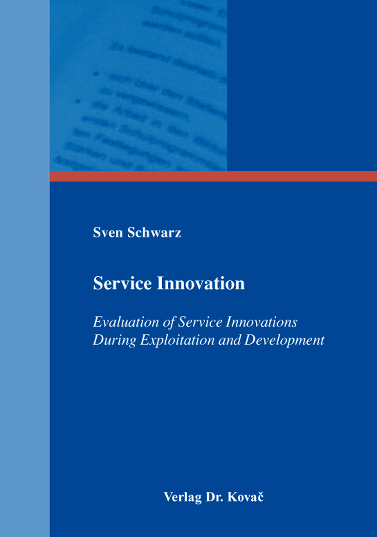Cover: Service Innovation