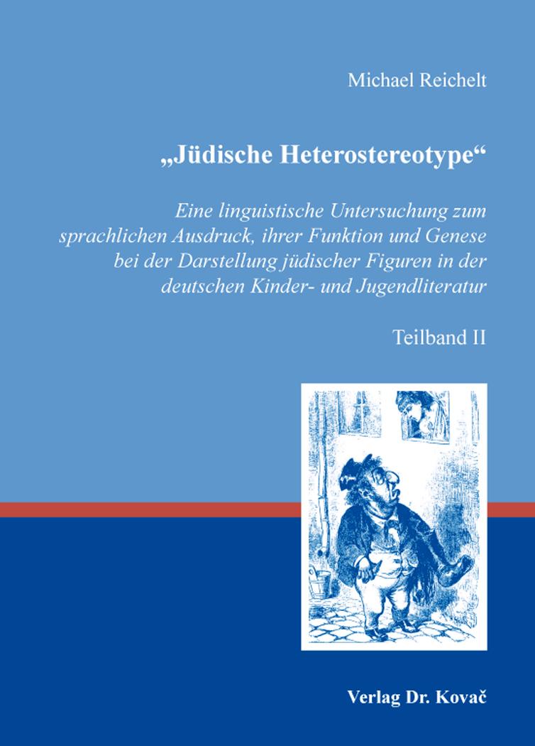 """Cover: """"Jüdische Heterostereotype"""""""