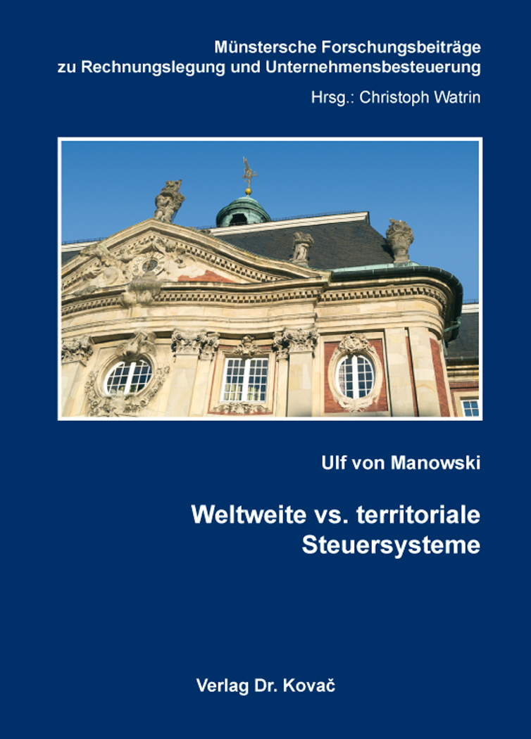 Cover: Weltweite vs. territoriale Steuersysteme