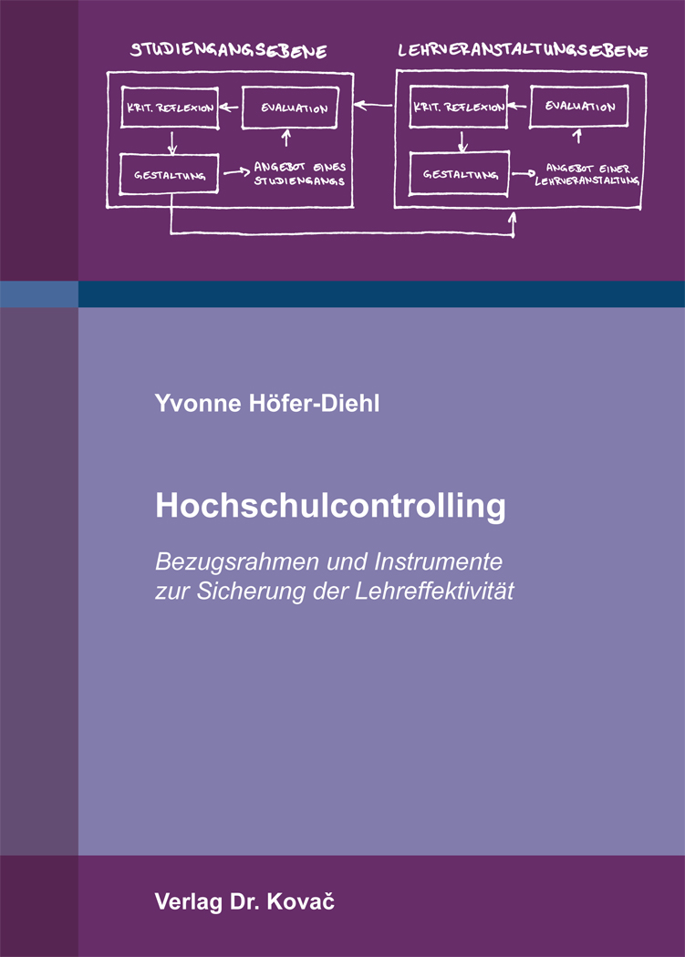 Cover: Hochschulcontrolling