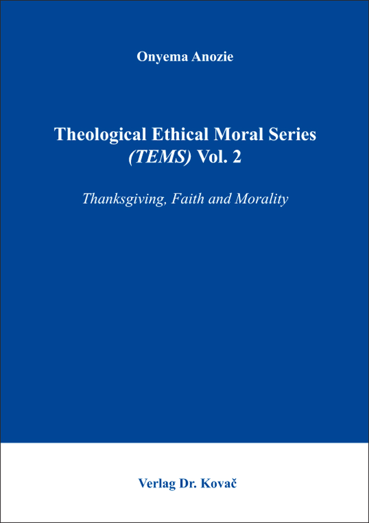 Cover: Theological Ethical Moral Series (TEMS) Vol. 2