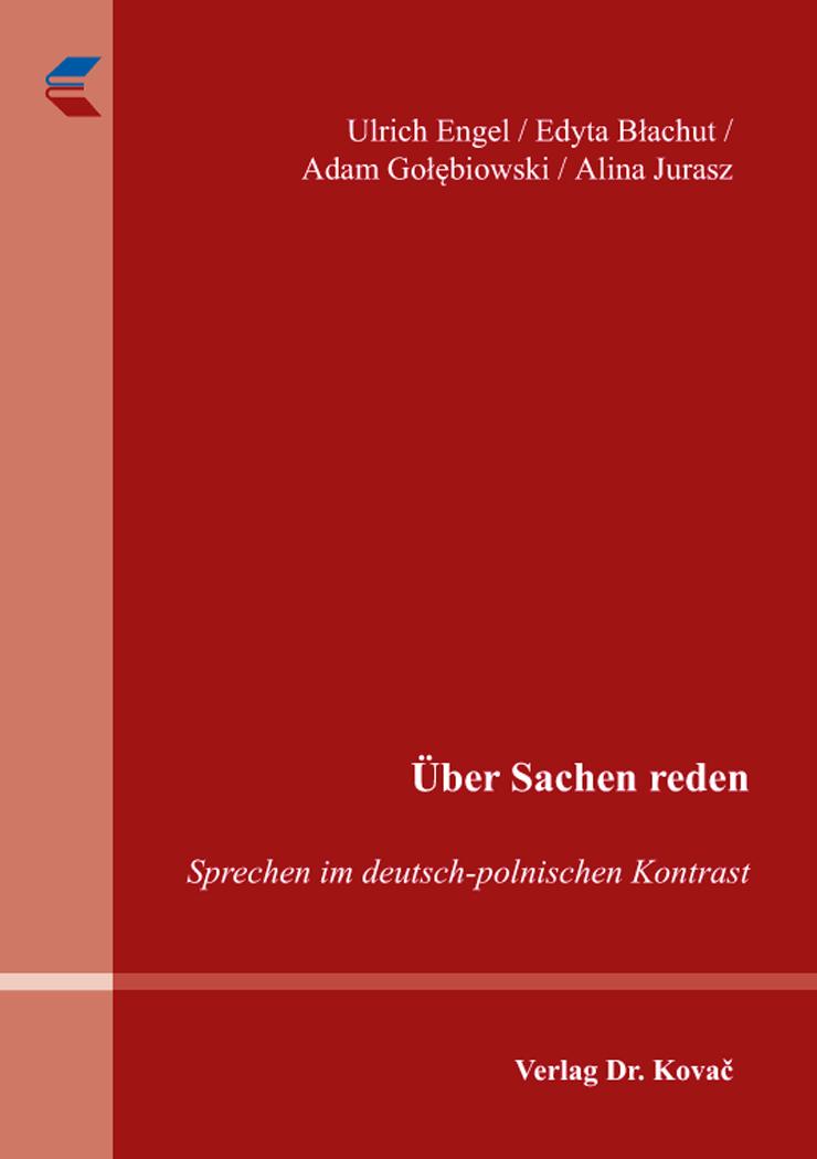 Cover: Über Sachen reden