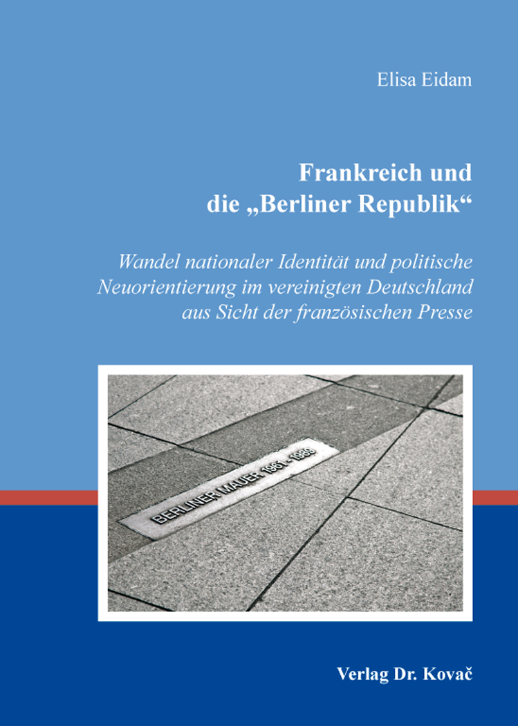 """Cover: Frankreich und die """"Berliner Republik"""""""