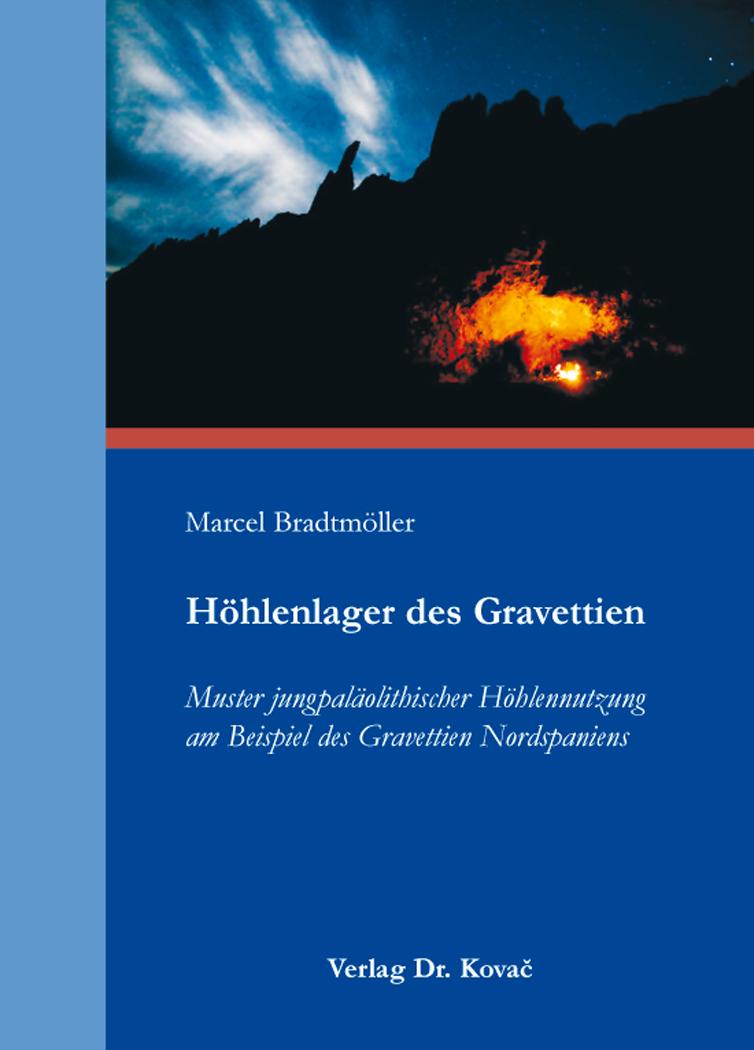 Cover: Höhlenlager des Gravettien