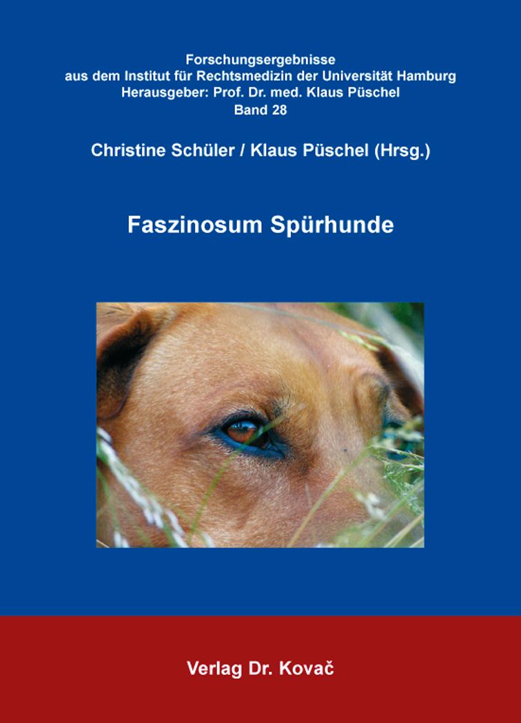 Cover: Faszinosum Spürhunde