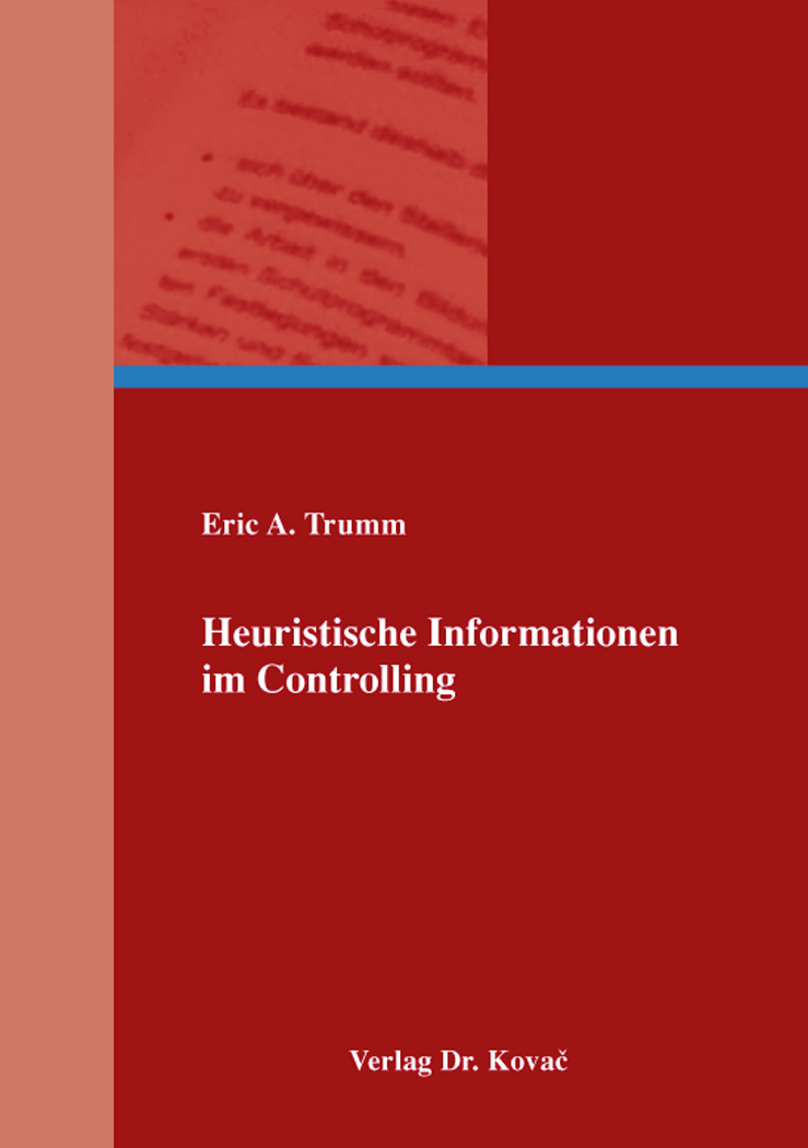Cover: Heuristische Informationen im Controlling