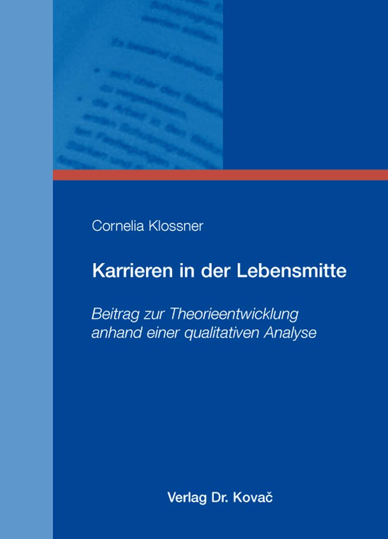 Cover: Karrieren in der Lebensmitte