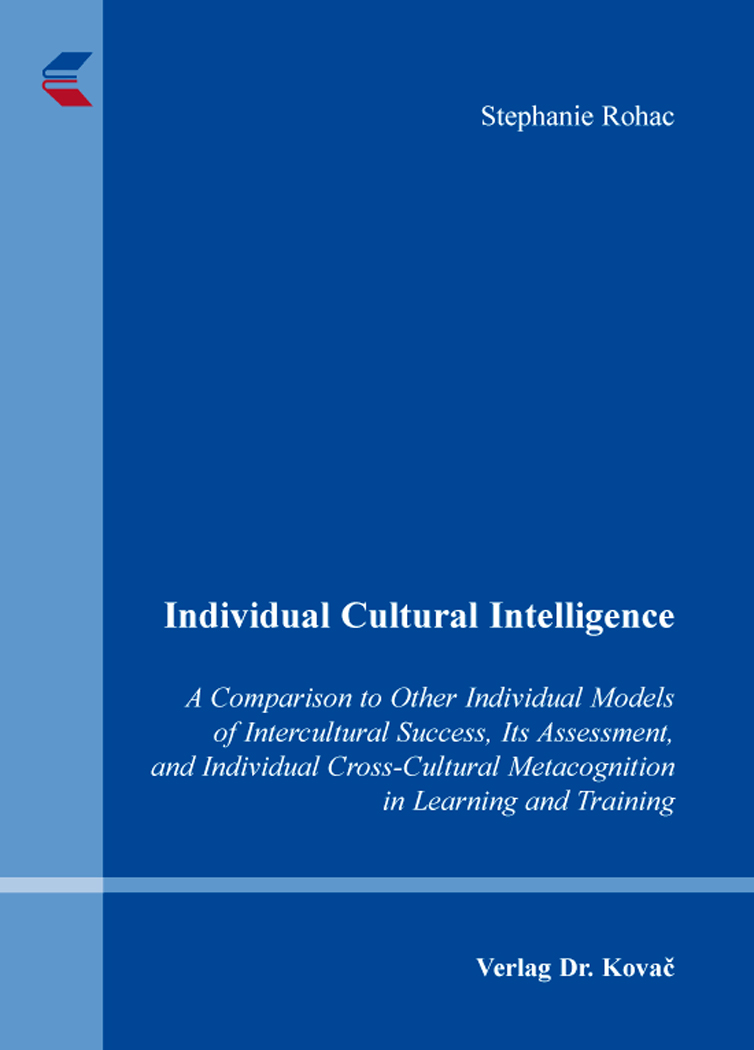 Cover: Individual Cultural Intelligence
