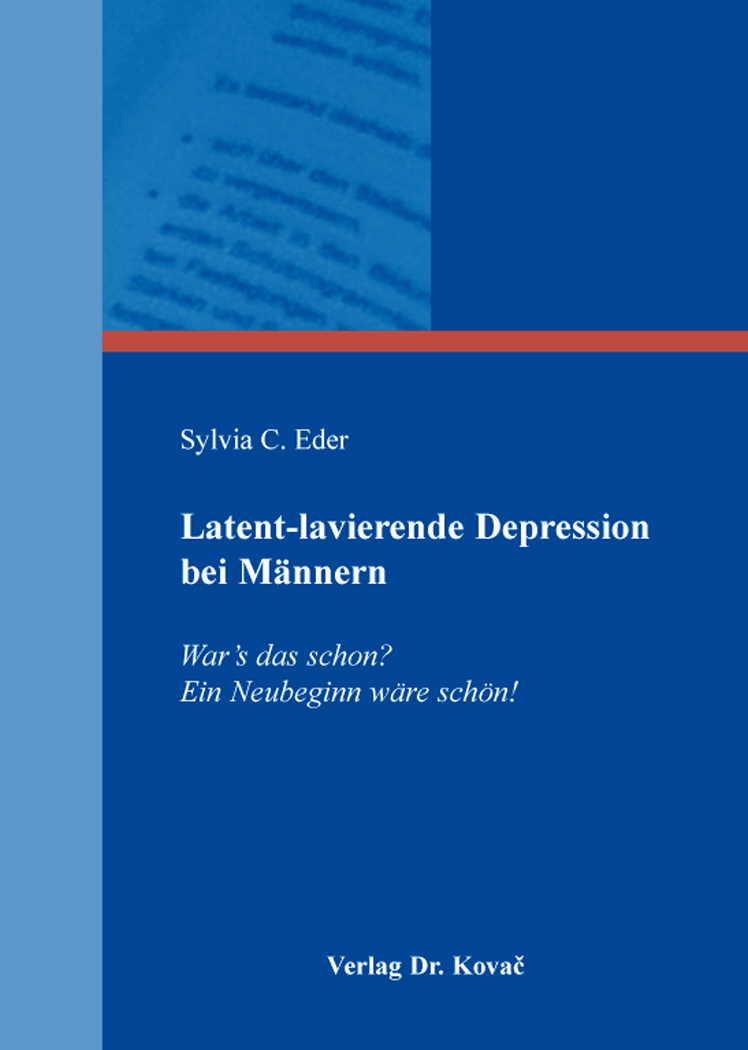 Cover: Latent-lavierende Depression bei Männern