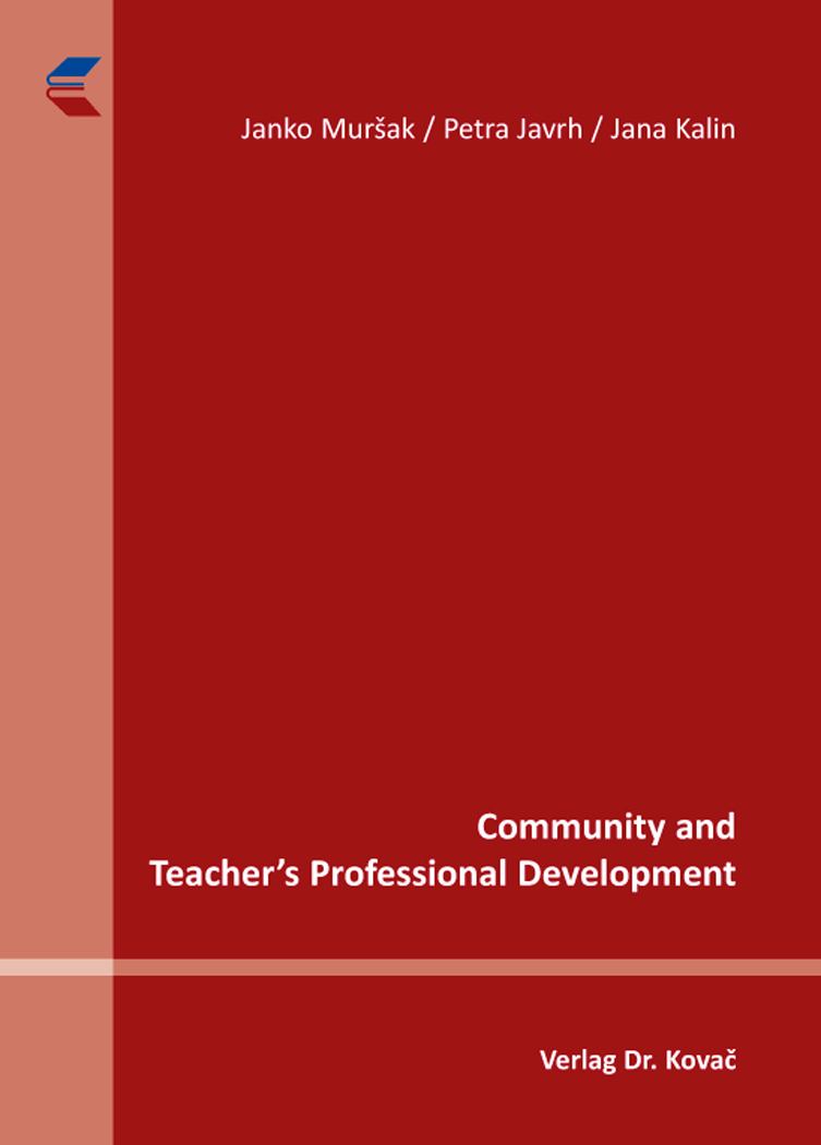 Cover: Community and Teacher's Professional Development