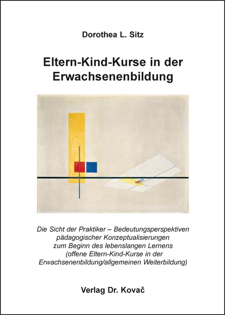 Cover: Eltern-Kind-Kurse in der Erwachsenenbildung