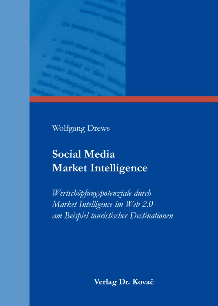 Cover: Social Media Market Intelligence