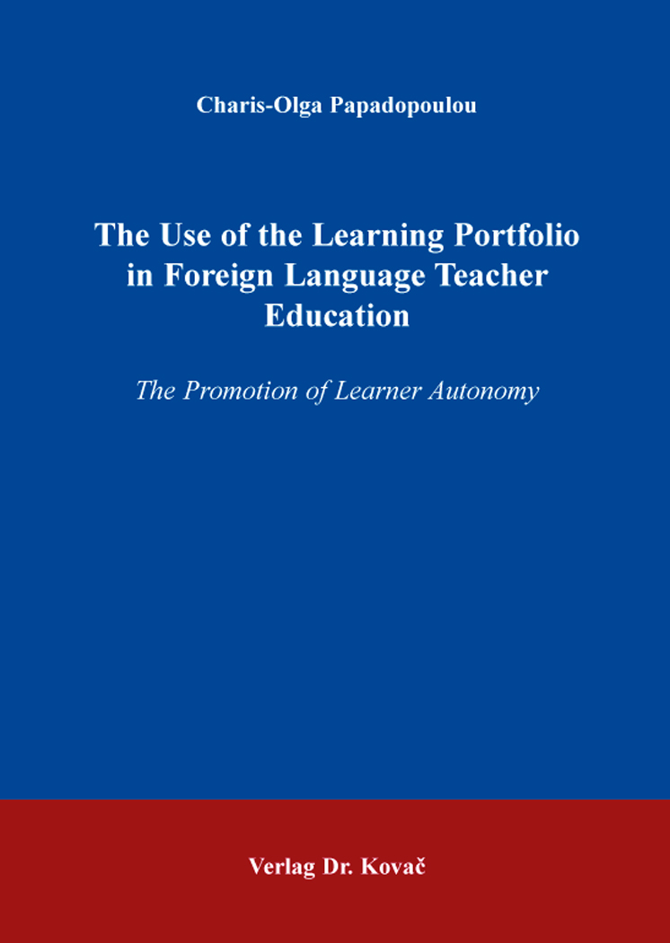 Cover: The Use of the Learning Portfolio in Foreign Language Teacher Education
