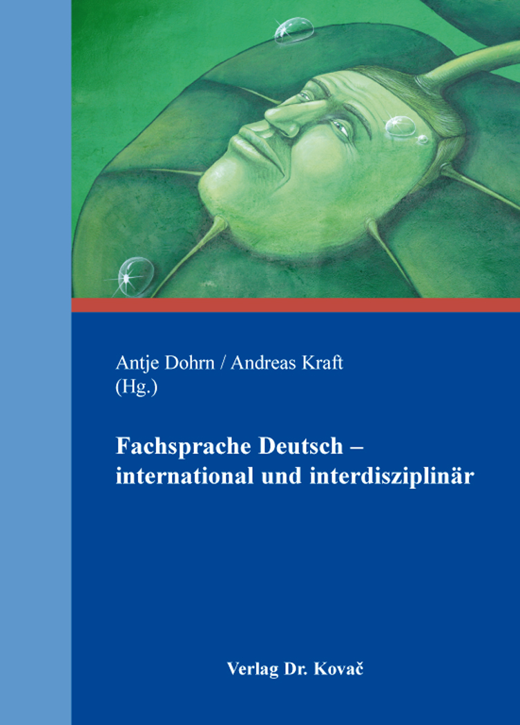 Cover: Fachsprache Deutsch – international und interdisziplinär