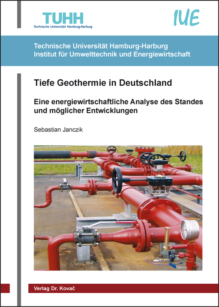 Cover: Tiefe Geothermie in Deutschland
