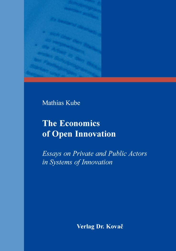 Cover: The Economics of Open Innovation