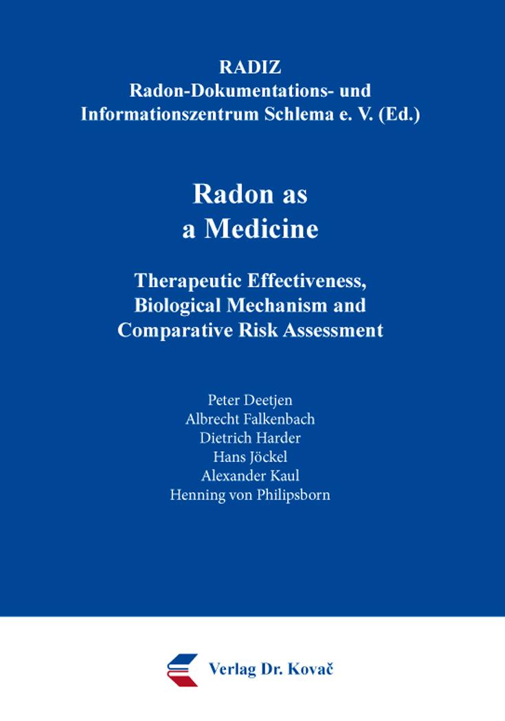Cover: Radon as a Medicine