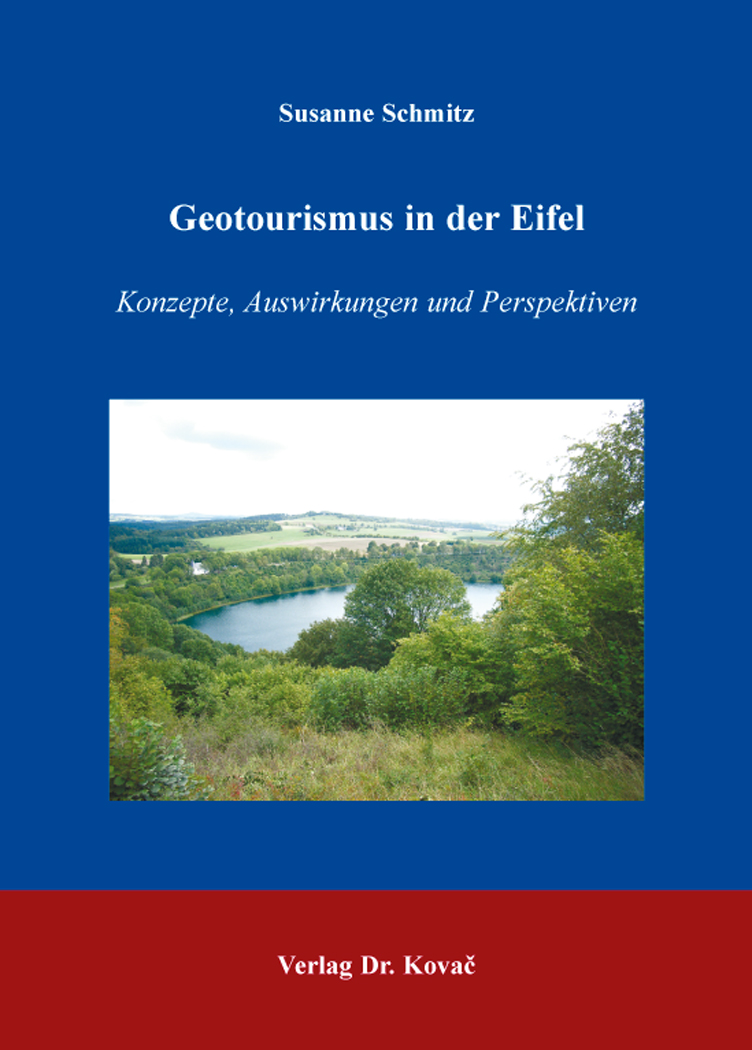Cover: Geotourismus in der Eifel