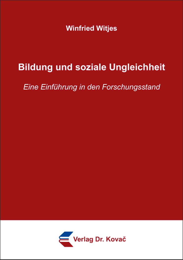 Cover: Bildung und soziale Ungleichheit