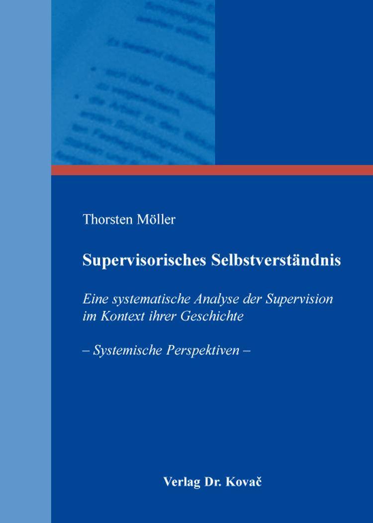Cover: Supervisorisches Selbstverständnis