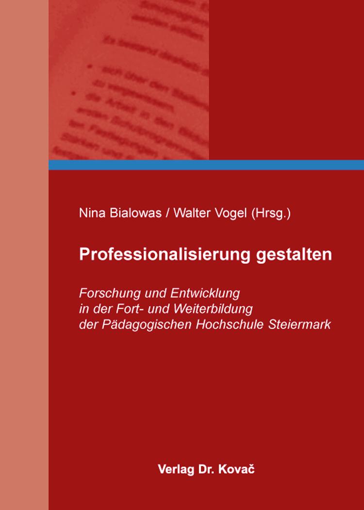 Cover: Professionalisierung gestalten