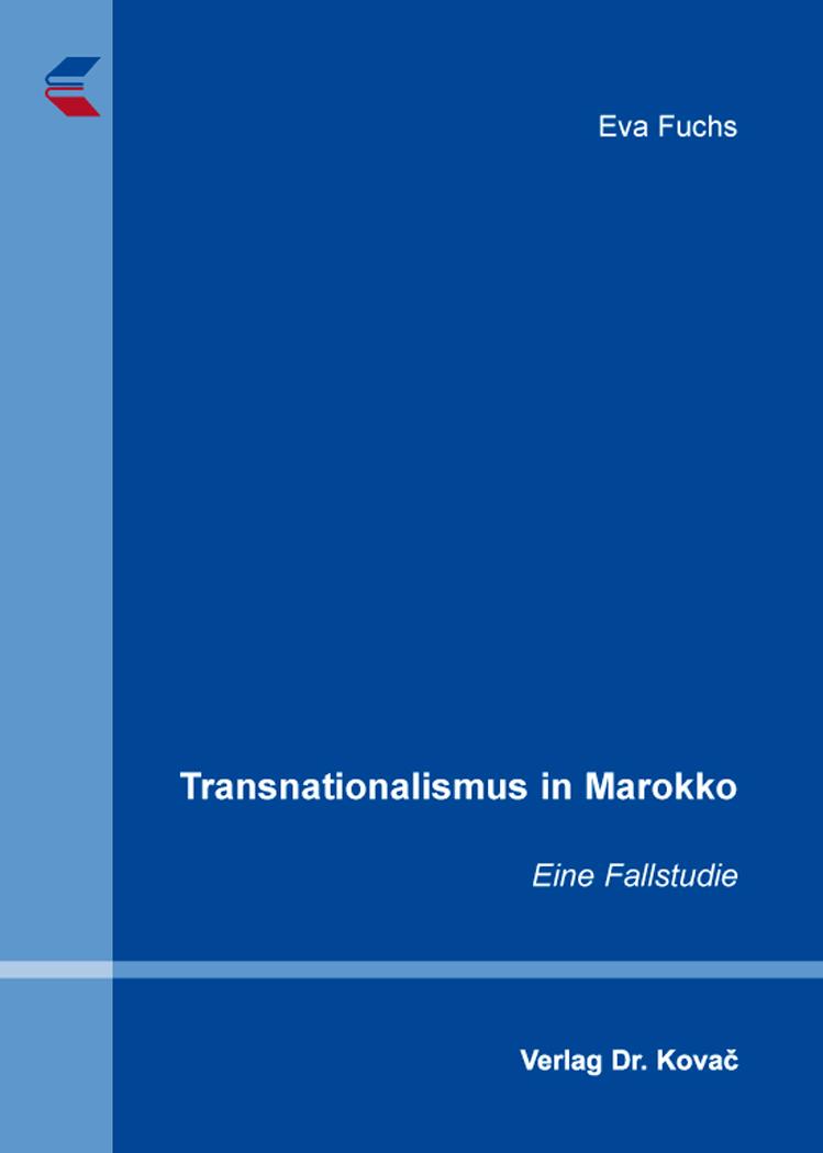 Cover: Transnationalismus in Marokko