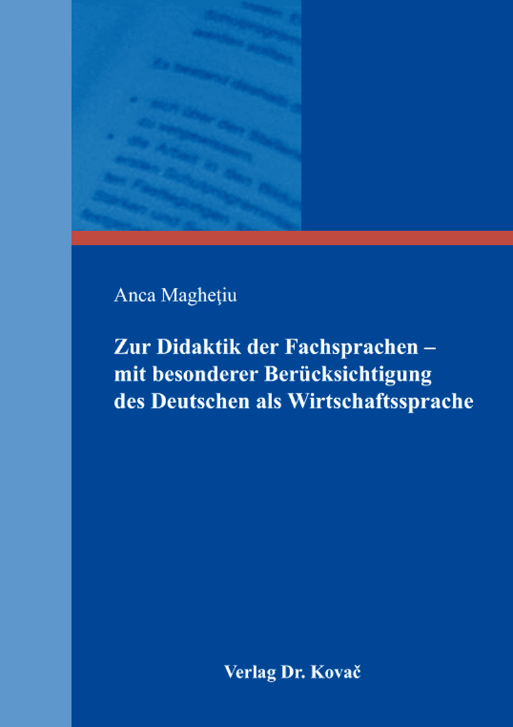 Dissertation Deutsche Sprache