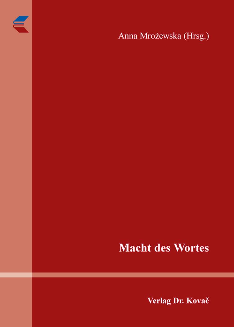 Cover: Macht des Wortes