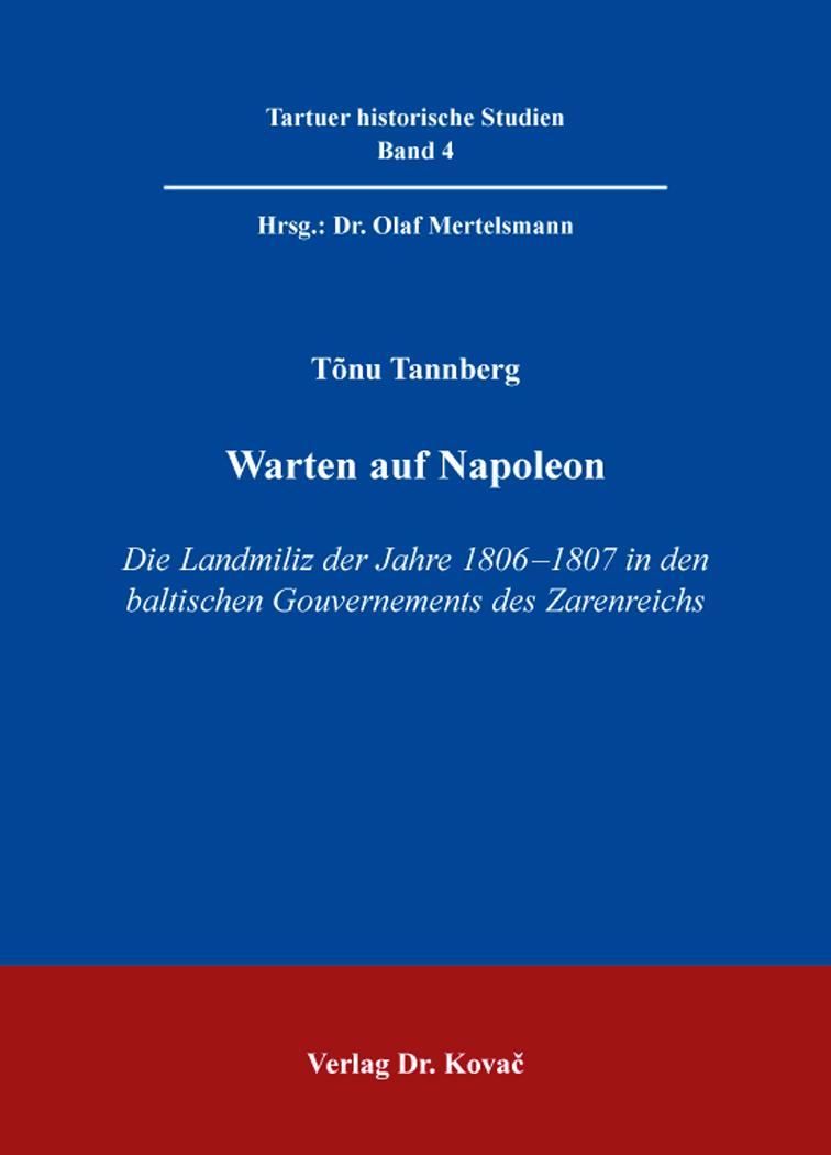 Cover: Warten auf Napoleon