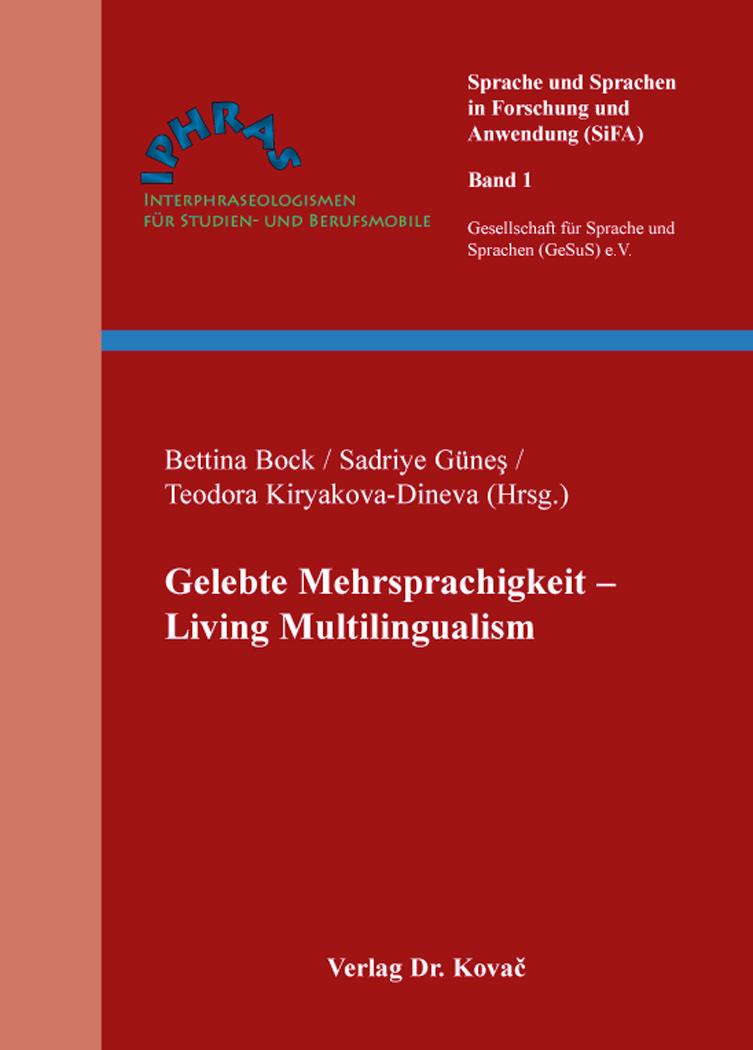 Cover: Gelebte Mehrsprachigkeit – Living Multilingualism