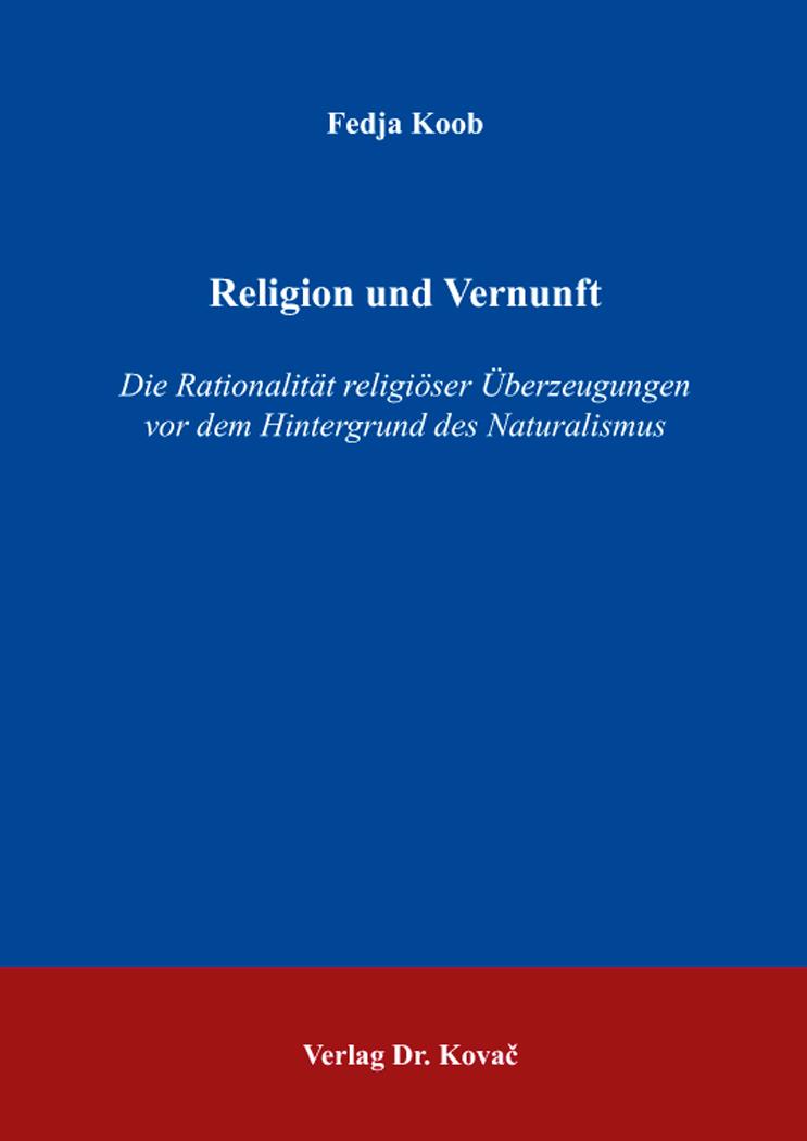 Cover: Religion und Vernunft