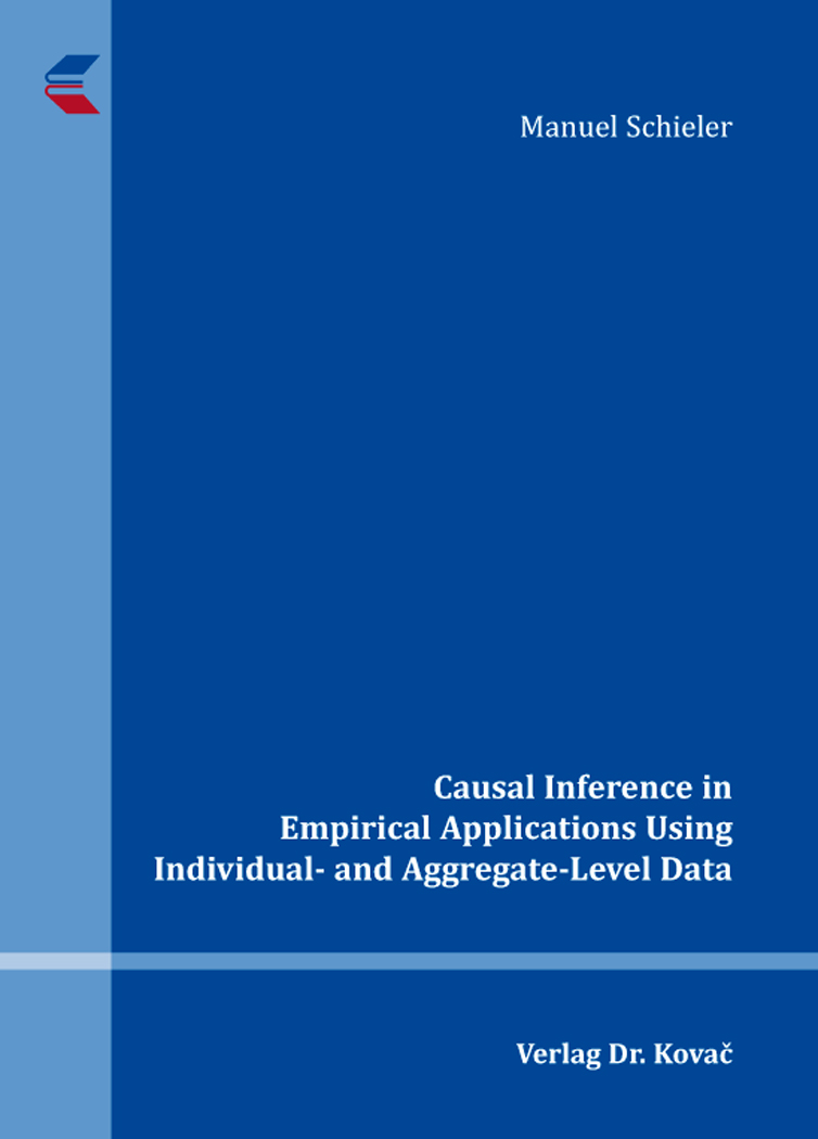 Cover: Causal Inference in Empirical Applications Using Individual- and Aggregate-Level Data