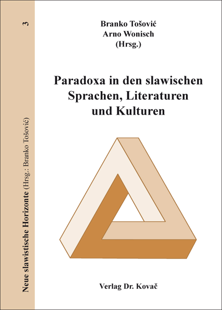 Cover: Paradoxa in den slawischen Sprachen, Literaturen und Kulturen