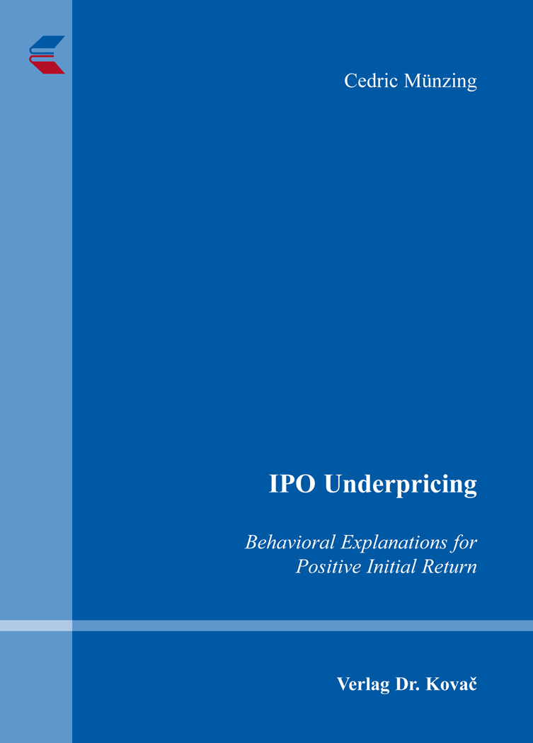 Cover: IPO Underpricing