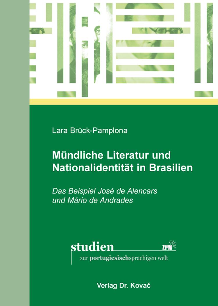 Cover: Mündliche Literatur und Nationalidentität in Brasilien
