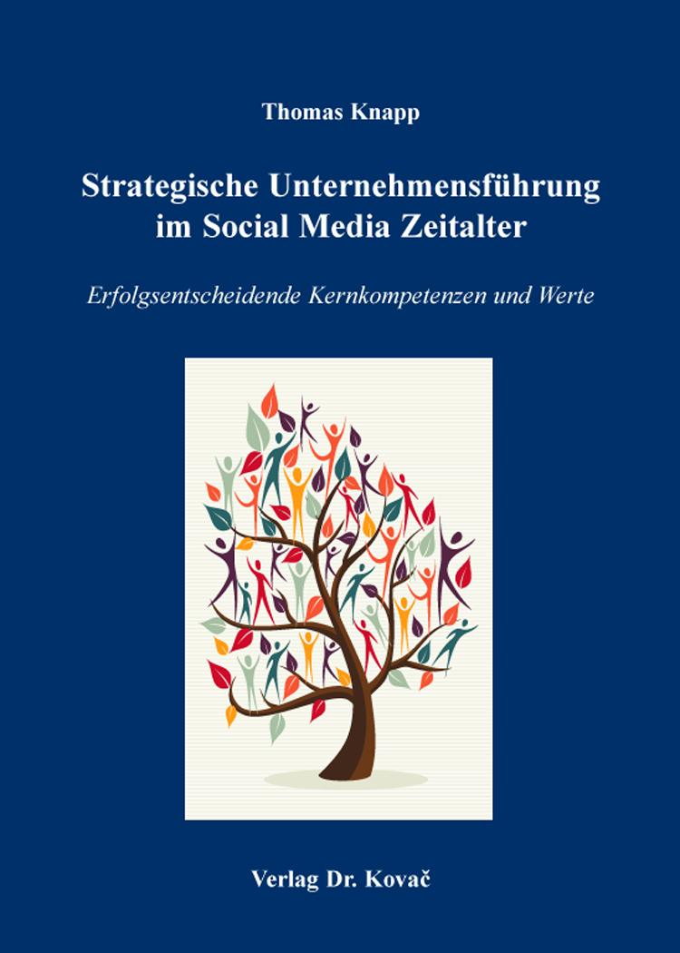 Cover: Strategische Unternehmensführung im Social Media Zeitalter