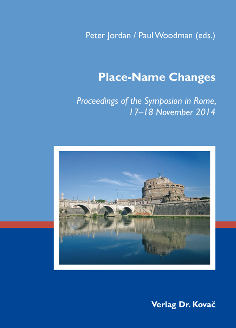 Cover: Place-Name Changes