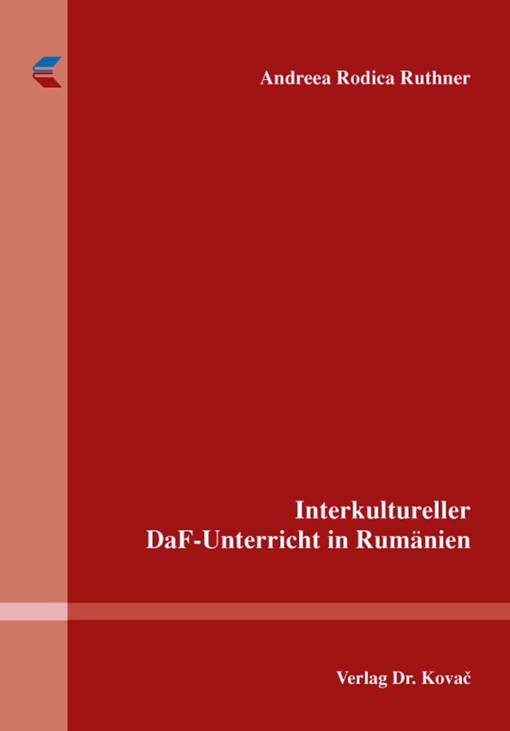 Cover: Interkultureller DaF-Unterricht in Rumänien