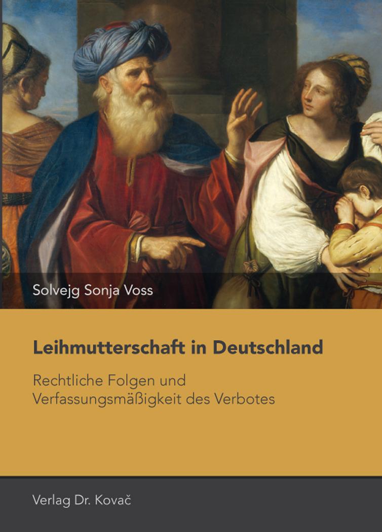 Cover: Leihmutterschaft in Deutschland