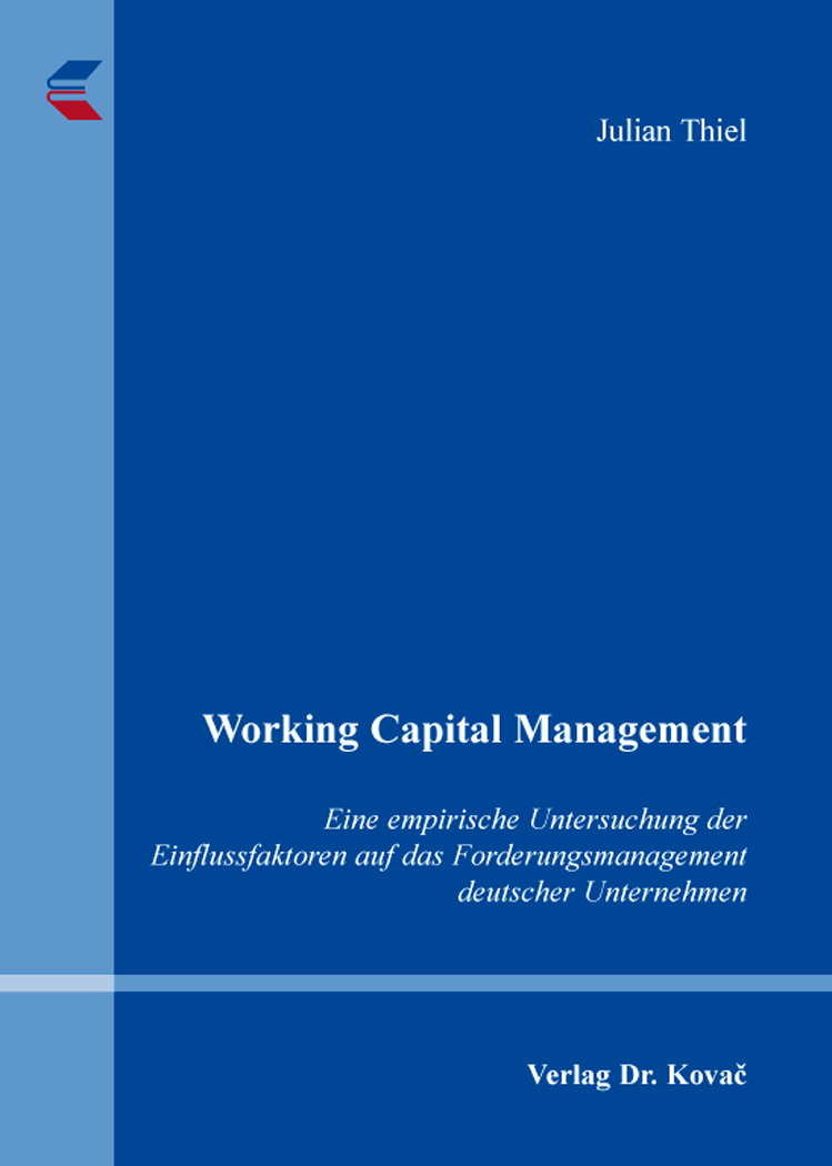 Cover: Working Capital Management