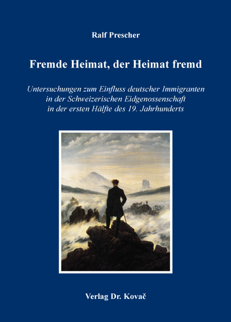 Cover: Fremde Heimat, der Heimat fremd