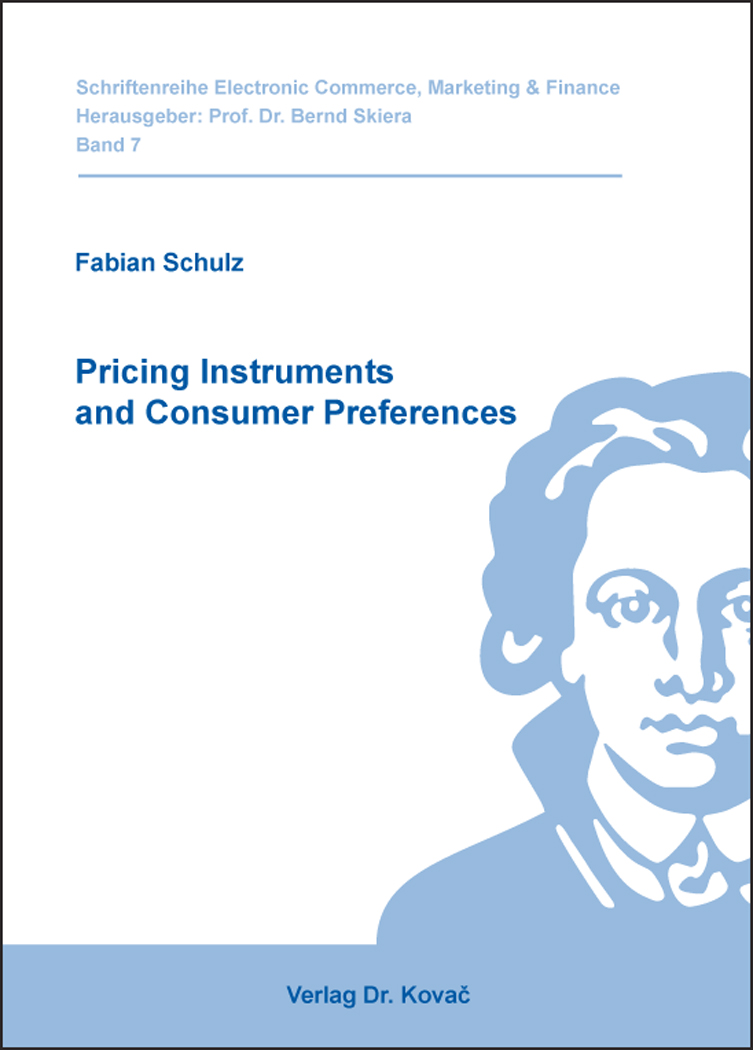 Cover: Pricing Instruments and Consumer Preferences